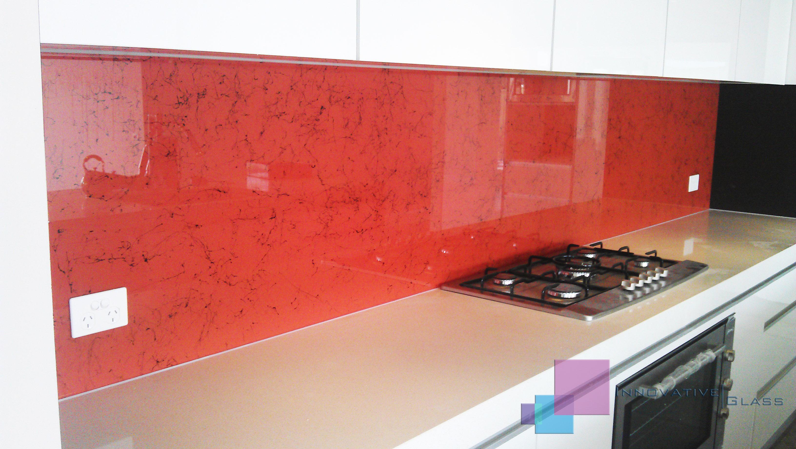 Kitchen Glass Splashbacks Stylish Glass Splashback Innovative